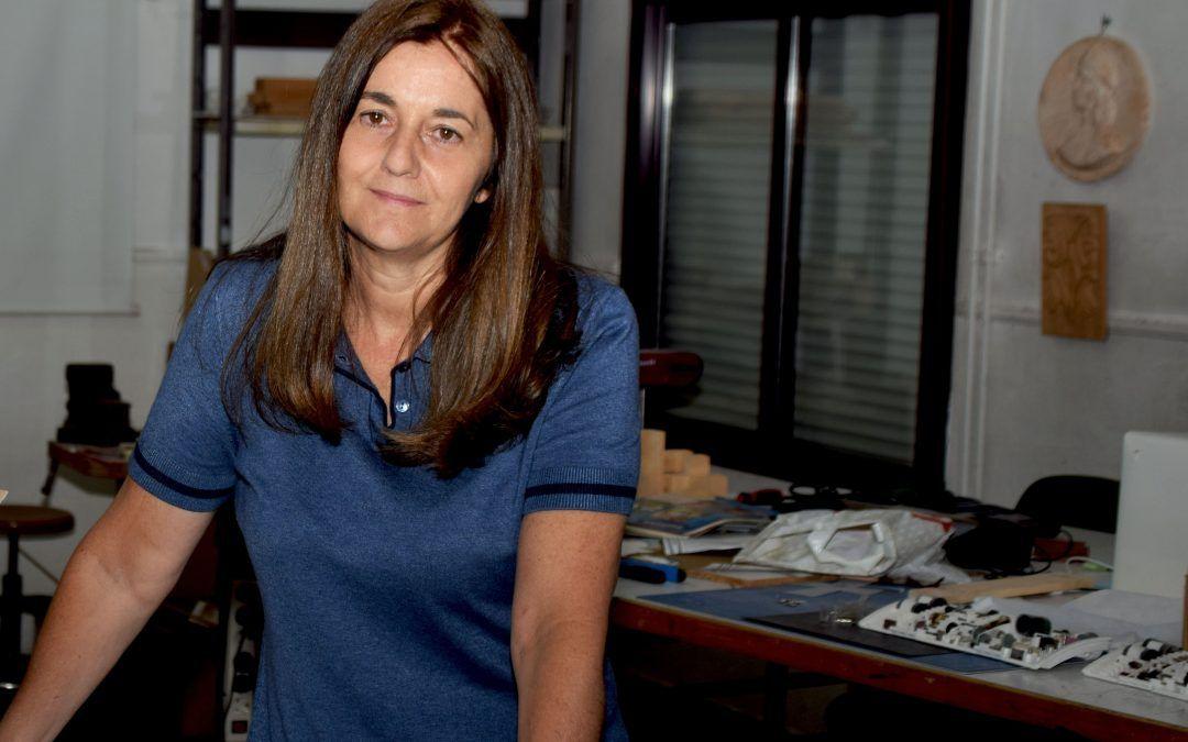 "Elena Poblete: ""Ser creativo a veces es agotador, tu mente está siempre en ebullición""."