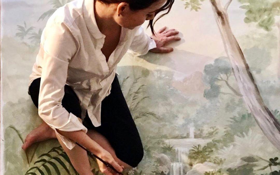"""CAROL MORENO: """"Para mí es absolutamente necesario el contacto con la naturaleza. Perderme en ella, es la Fuente"""""""