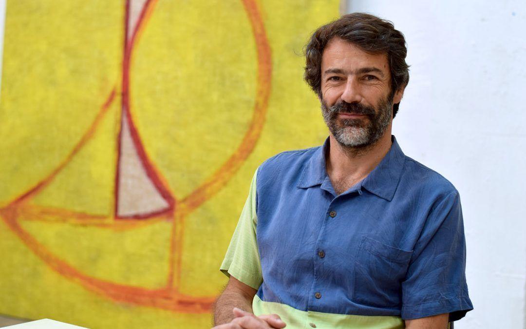Eduardo Barco: Entramos en la casa-estudio de Madrid del artista contemporáneo.