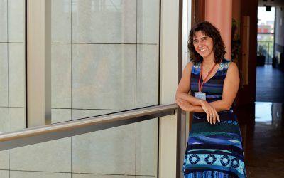"""Ester Vázquez: """"Me encanta la investigación porque cada día es distinta y depende de ti, tu eres el que creas, somos un poco artistas"""""""