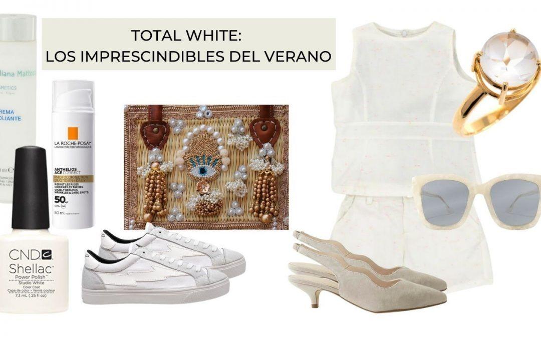 TOTAL WHITE: LOS IMPRESCINDIBLES DEL VERANO