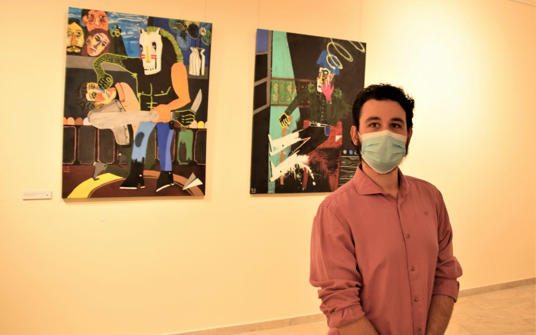 """Carlos Quiralte pone un toque de color a la pandemia con la exposición """"Reinicio"""" en el Museo Elisa Cendrero"""